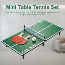 Большой Крытый мини стол для пинг-понга теннисный стол Набор деревянные детские развивающие игрушки родитель-детская игра развлечения