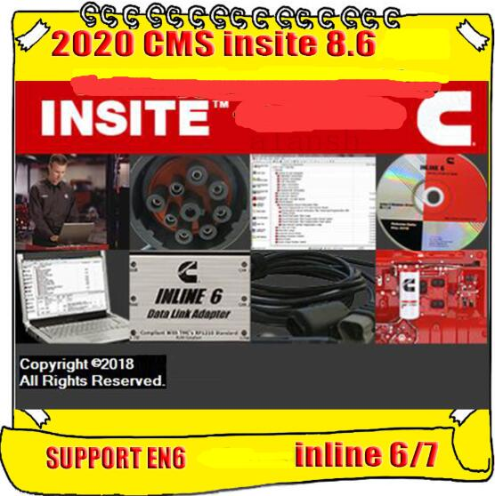 INSITE 2020 mise à jour vers 8.6.0.104, 104 + pièces pour pass ECM, pour désactivation, nouveauté 8.6
