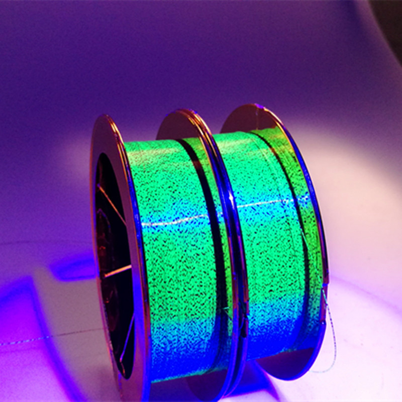 Germany Improved Color Changing Spot Line Night Light Shadow 100 M Angling Fishing Line Strands Mainline Hidden Fishing Nylon Th
