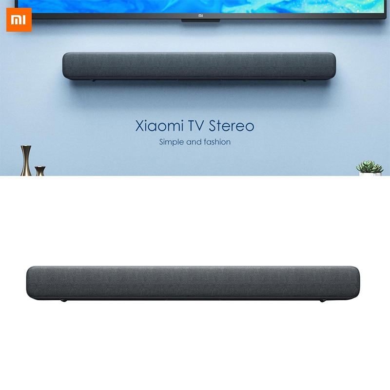 Xiaomi TV ses çubuğu hoparlör kablosuz Bluetooth SoundBar ses basit ve moda Bluetooth müzik çalma için sineması TV