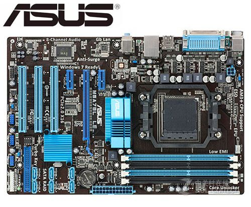 ASUS M5A78L LE Original Motherboard DDR3 Socket AM3 AM3+ 32G Used Desktop Motherboard