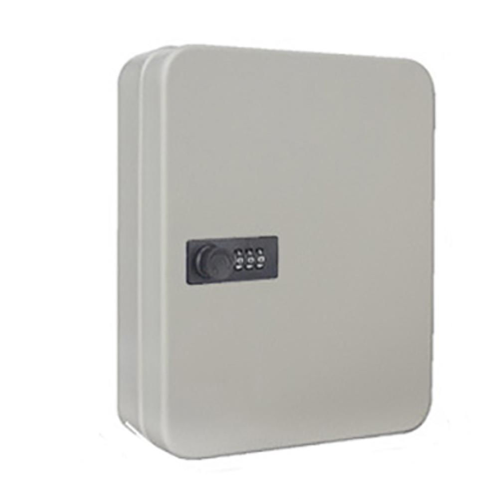 Key Safe Box Password Metal Storage Cabinet Car Combination Lock Security Indoor Outdoor Resettable Code Lockable Wall Mounted