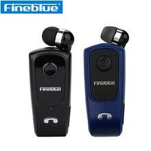 Fineblue retrátil fone de ouvido bluetooth f920 pro sem fio esporte sem fio correndo fone alta fidelidade com microfone lavalier