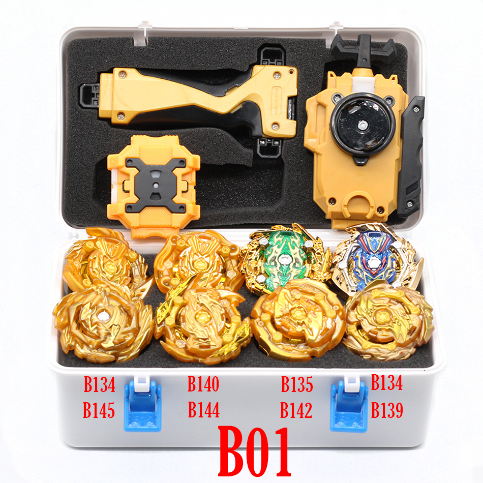 TAKARA TOMY połączenie Beyblade Burst zestaw zabawek Beyblades Arena Bayblade fuzja metalu 4D z wyrzutnią Blayblade zabawki
