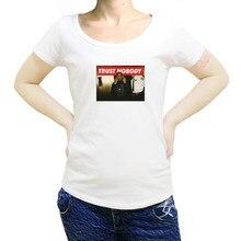 Tupac 2Pac Shakur moi contre le monde confiance personne graphique fille shubuzhi femmes t-shirt mode femmes coton T-Shirts sbz8358
