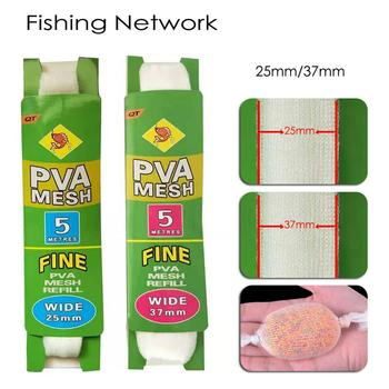 Awesome 5M PVA Soluble Narrow Fishing Network Fishing Accessories cb5feb1b7314637725a2e7: 2.5cmx5m|3.7cmx5m
