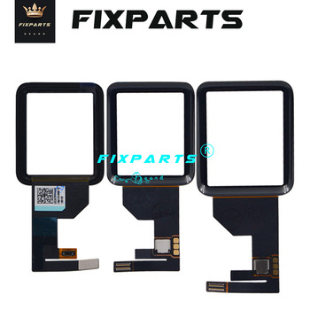 New Black Front Glass Series 2 3 4 5 Touch Screen Digitizer Replacement Touch Panel For Apple Watch Series 1 38 42mm Touchscreen image