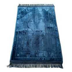 Prayer Rugs,Sajda Muslim Prayer Carpet  Fashion Islamic Prayer 80x120CM Mat Deserthome Prayer Rugs Sajda Muslim Prayer Carpet