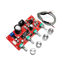 LM1036 NE5532 Tone Preamplifier Board Balance Equalizer Audio Preamp Tone Conrtol Pre amplifier
