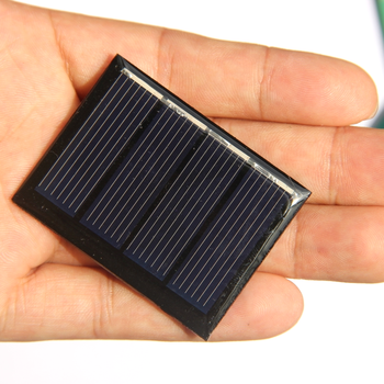 BUHESHUI Small 2V 0.25W Solar Panel Polycrystalline Solar Cell Module Charger For 1.2V /1.5V Battery 50*38MM 100pcs image