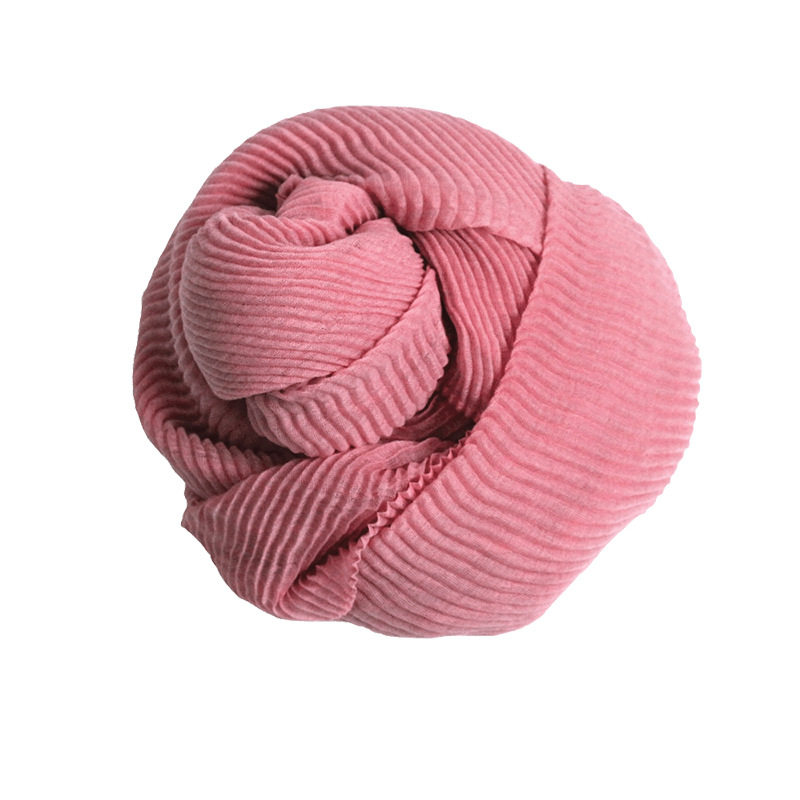 2019 New Style Small Pineapple Clinch Scarf Women's Autumn And Winter Korean-style Knitted Yarn Thick Warm Scarf