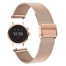 Миланский ремешок ископаемых gen 4 q venture hr / 3 smartwatch
