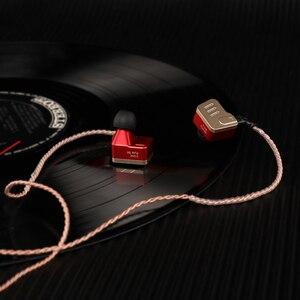 Image 5 - KZ BA10 Headset Balanced Armature Driver 5BA HIFI Bass Earbuds In Ear Monitor Earphone Sport Headset Noise KZ AS10 ZS10 ZS6
