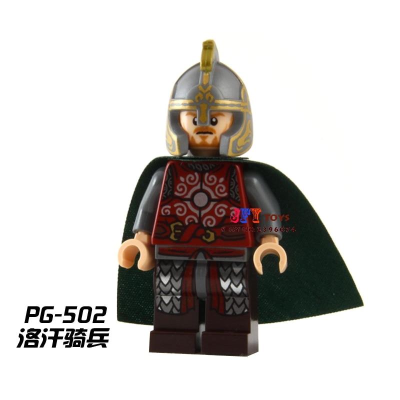 Single Sale Superhero Eomer Lord Of The Rings LOTR Building Blocks Model Bricks Toys For Children