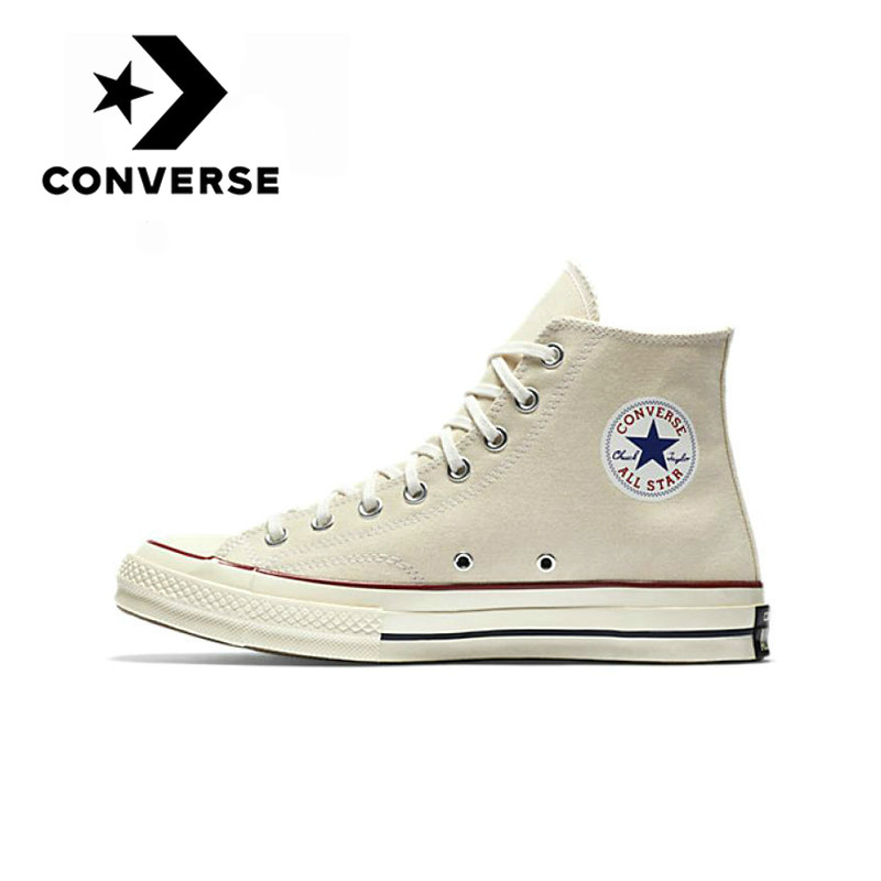 Converse Chuck Taylor All Star'70 Skateboarding Shoes Couple Models Sneaksers Neutral Canvas Footwear Lightweight Cozy Durable
