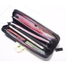 Womens Wallet Long Geometric Rhombic Mobile Phone Bag Luminous Colorful Card Package Fashion Large Capacity Hand