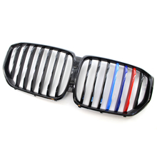 цена на Original Quality G05 Front Kidney Grill Racing Grills For BMW X5 G05 G06 2018+ Glossy Black Racing Mesh Grills Car Accessories