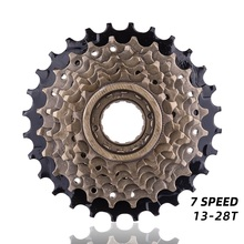 7 Speed Cassette Freewheel 14 28T for MTB Road Cycling Bike 7 Speed Cassette Bicycle Accessories