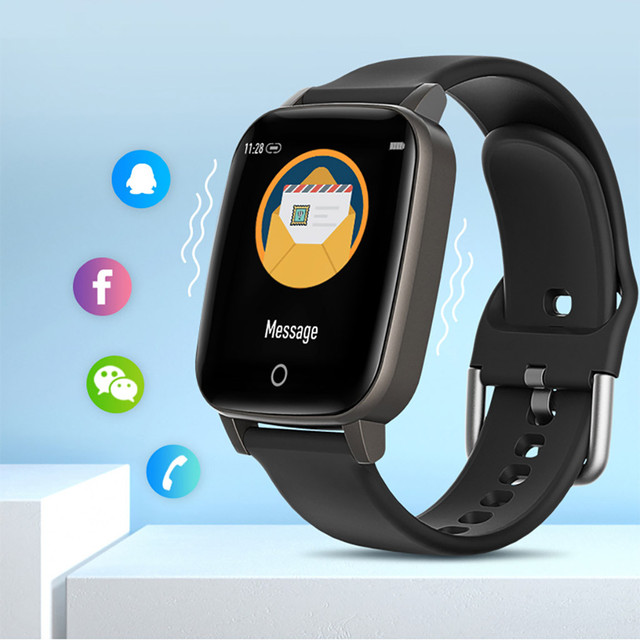 Sports Fitness Temperature Measurement Wristband Smart Watch For Android And iOS 2020 Pedometer Men Women Smartwatch 3