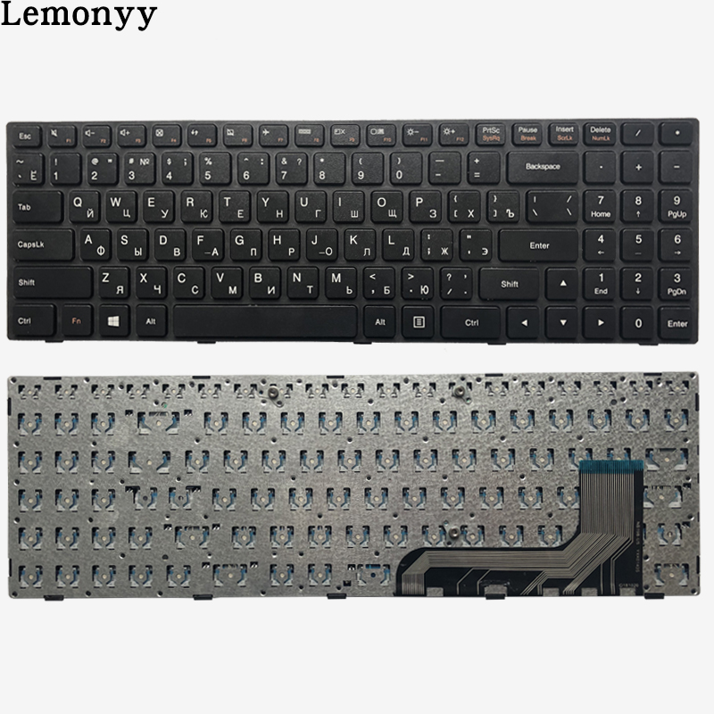 New Russian RU Keyboard For Lenovo Ideapad 100-15 100-15IBY 100-15IB B50-10 PK131ER1A05 5N20h52634 9z.NCLSN.00R NANO NSK-BR0SN