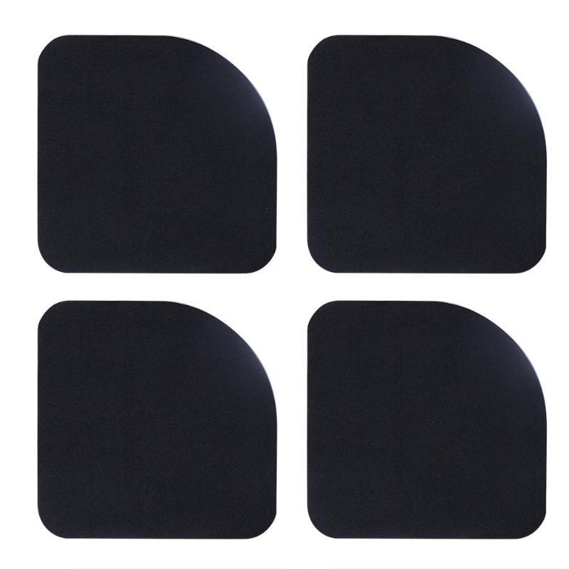 4 Buah Mesin Cuci Anti Getaran Pad Shock Proof Anti-Slip Kaki Kaki Disesuaikan Mat Kulkas Lantai Furniture Pelindung title=