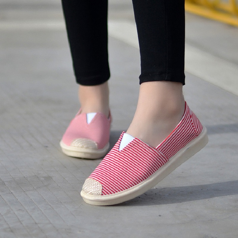 Women's Flats Women Casual Breathable Loafers Ladies Slip On Soft Bottom Woman Comfortable Shoes Female Leisure 2020