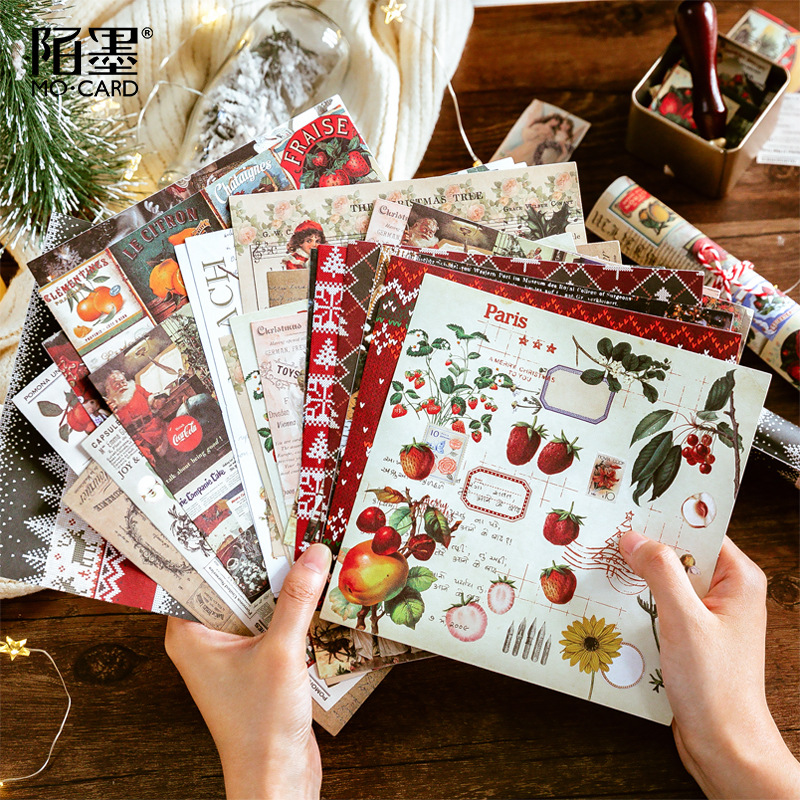 8sheets/1lot Kawaii Stationery Stickers Diary Forst Christmas Decorative Mobile Stickers Scrapbooking DIY Craft Stickers