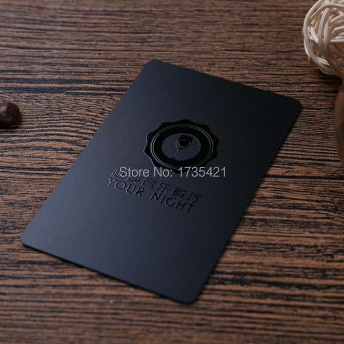 0.76mm Thickness PVC Business Card With Spot UV Printing