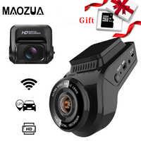 Coche cámara de salpicadero 2160P 4K Ultra HD con 1080P cámara trasera WiFi GPS Logger ADAS doble lente de la Cámara DVR de visión nocturna para coche + 32G tarjeta SD