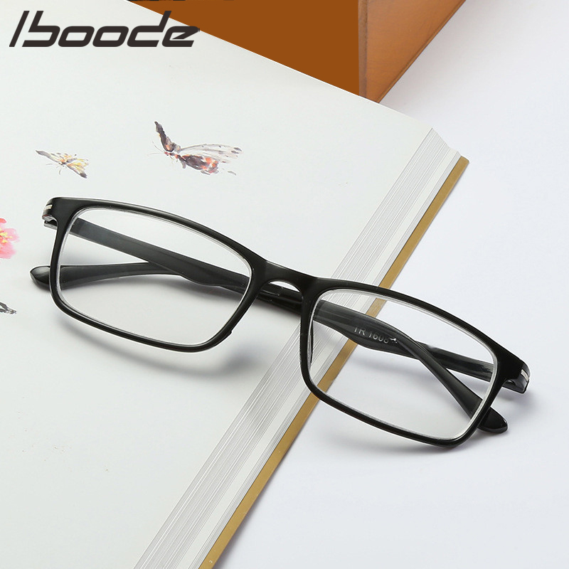IBOOD 2019 Fashion Myopia Glasses Men Women Black Glasses Frame Spectacles Nearsighted Student Glasses Super Light Finished