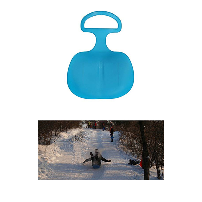 Kids Snowboard Winter Outdoor Sport Thick Plastic Boards Sand Grass Sled Snow Luge Sand Ski Skating Snowboarding Sled Kids Gift