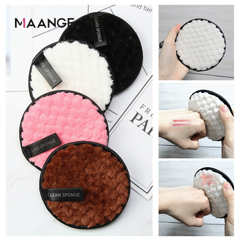 Microfiber Cloth Pads Remover Face Cleansing Towel Reusable Cleansing Makeup Sponge Double Layer Nail Art Cleaning Wipe Tools