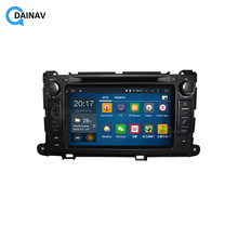 2 Din Stereo Receiver Auto GPS Navigation Multimedia DVD player für TOYOTA Sienna XL30 2013 + Auto Audio Radio Stereo