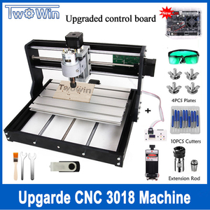 Upgraded CNC 3018 Pro GRBL control ER11 Diy mini cnc machine 3 Axis pcb Milling Machine Wood Router Laser Engraving