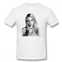 I Am Billie Eilish t shirt men Casual Fashion Mens Basic Short Sleeve T-Shirt boy girl hip hop t-shirt top tees
