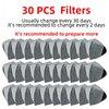 30pcs filters