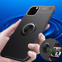 Suitable for iphone11 Pro protective case TPU anti-drop ring bracket shell Max 8 6 6s Plus 7 8Plus MAX XS