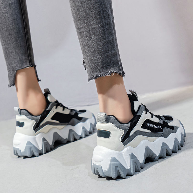 Platform sneakers women increase shoes spring sneakers women sneakers wedges shoes designer 2020