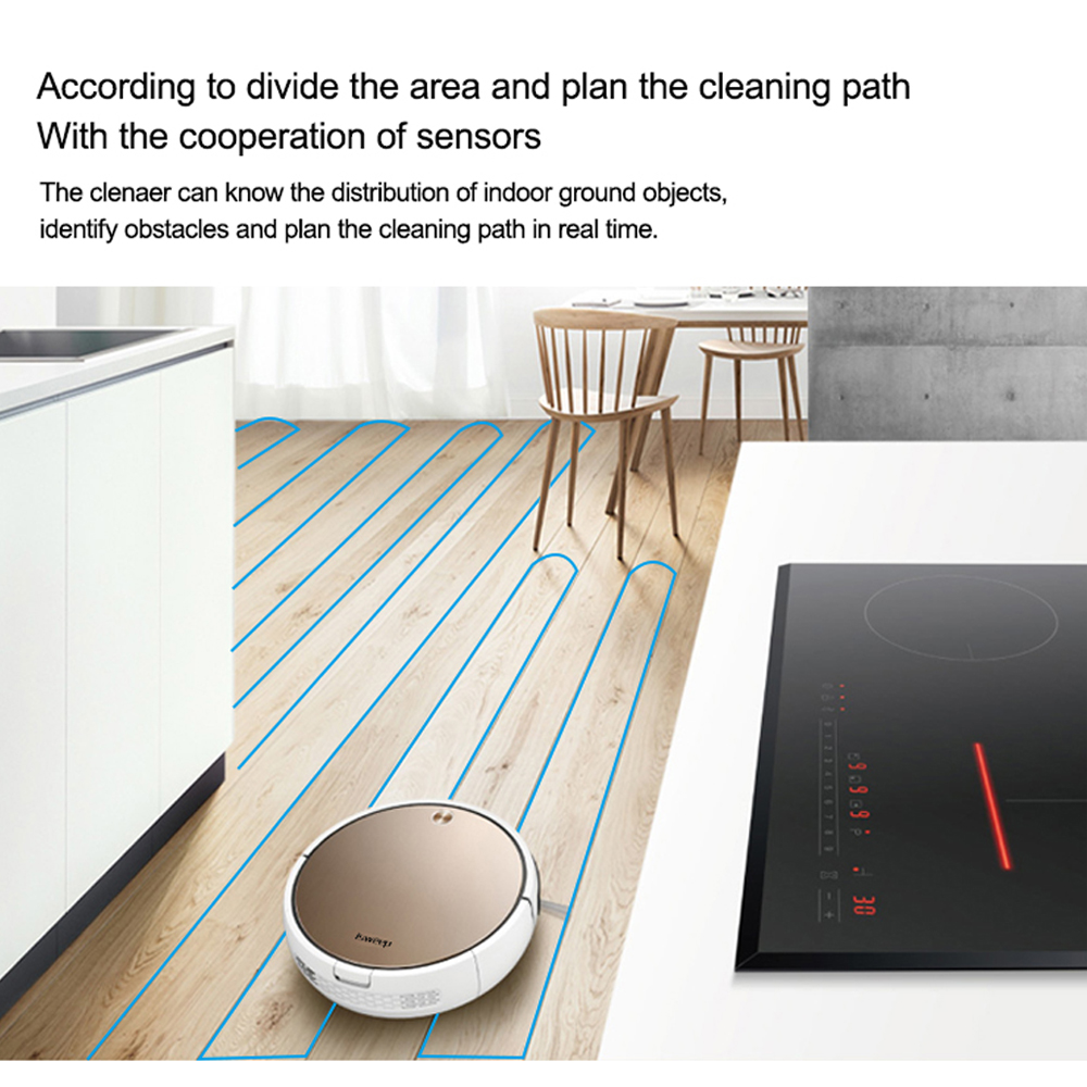 Isweep X3 Robot Vacuum Cleaner APP Control 1800 PA Wet and Dry Home Sweeper Auto Recharge Isweep X3 Robot Vacuum Cleaner APP Control 1800 PA Wet and Dry Home Sweeper Auto Recharge EU Plug English Version Gift 2 Brush