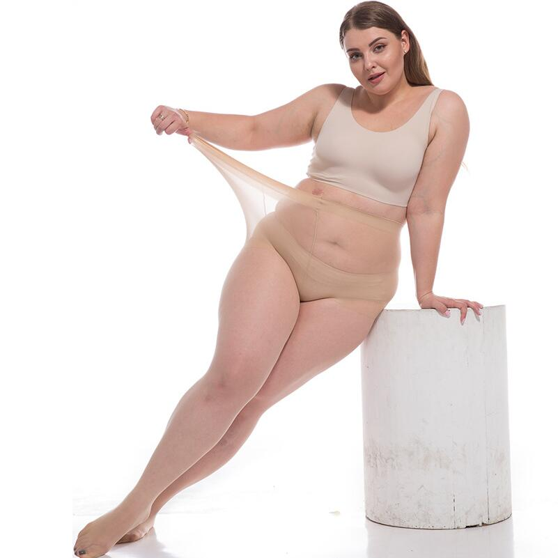 æDiscountStockings Pantyhose Oversized Plus-Size Ultra-Thin Tights Sexy Female Women 6D Nylon¸
