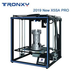 Tronxy 2019 Newest X5SA Pro OSG Double Axis External Guide Rail 3D Printer Desktop DIY Kits Titan Extruder Printing TPU Filament(China)