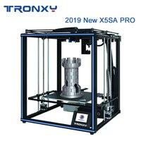 Tronxy 2019 Newest X5SA Pro OSG Double Axis External Guide Rail 3D Printer Desktop DIY Kits Titan Extruder Printing TPU Filament