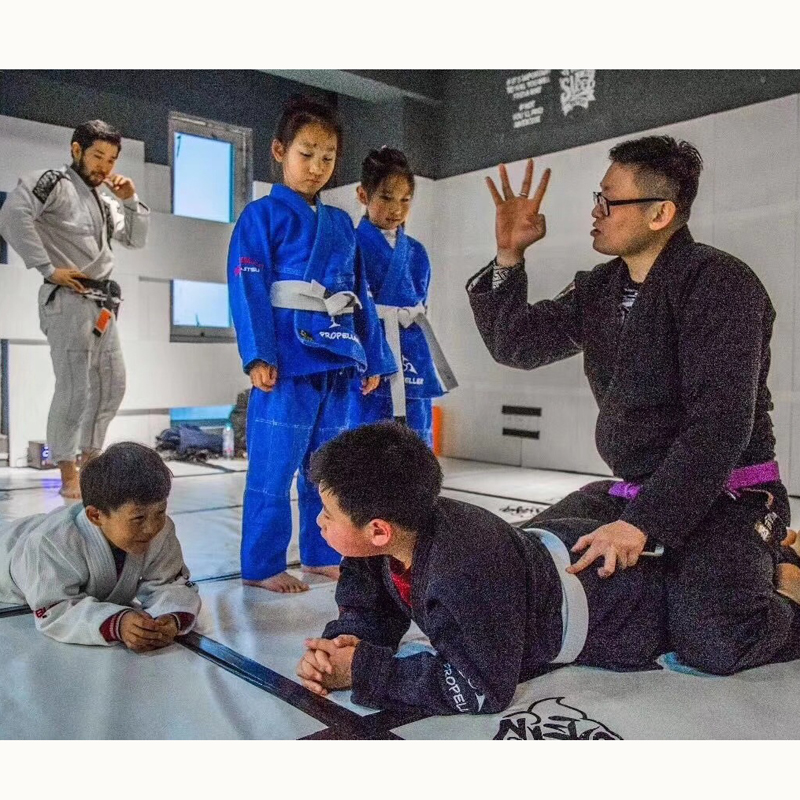 Jiu brésilien Jitsu Gi BJJ Gi pour hommes et femmes grappin gi uniforme Kimonos compétition professionnelle Judo costume - 3