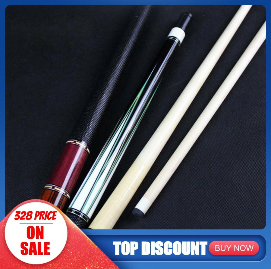 New Arrival HANDMADE High Quality Billiards Pool Stick Cue Kit 12.5mm Tip Ebony Rosewood Craft Durable Professional China 2019