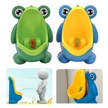 New Arrival Baby Boy Potty Toilet Training Frog Children Sta