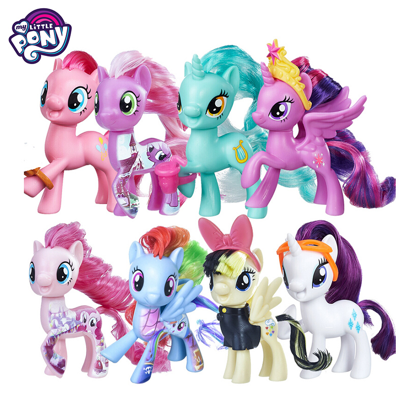 My Little Pony Magic Rainbow Dash One Piece Anime Action Figure Toys Model For Children Baby Birthday Gifts For Women Bonecas