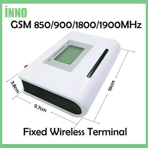 Image 3 - GSM 850/900/1800/1900MHZ אלחוטי קבוע מסוף עם LCD תצוגה, תמיכה מעורר מערכת, PABX, ברור קול, אות יציבה