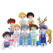 2021 The latest fashion cute 16 cm doll clothing clothing sportswear general style hand-made accessories girls toys