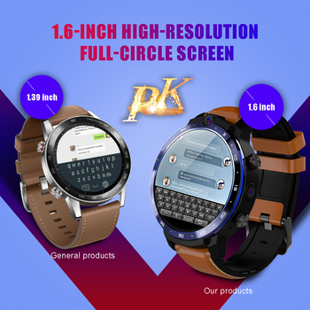 LEMFO LEM12 Smart Watch Men 3G 32G 500W + 800W Dual Camera Face ID unclok 1.6