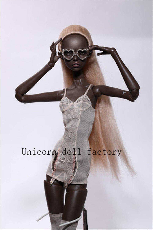 2020 nouvelle poupée BJD 1/4-poupée articulée kunis donner des yeux